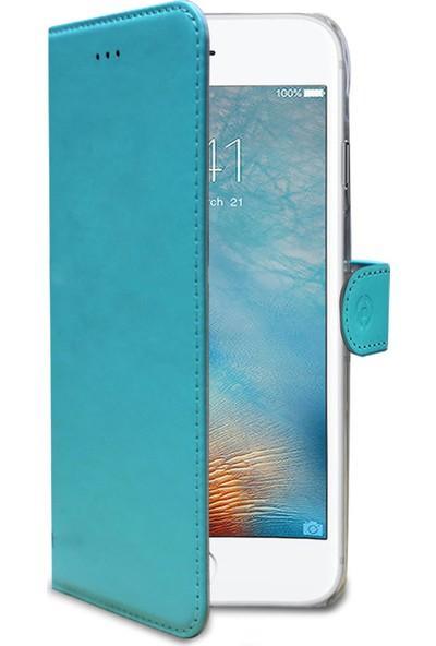 Celly Wally Case for iPhone 7/8 Turkuaz Kılıf -WALLY800TF