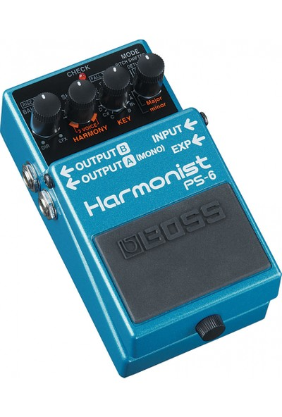 Boss Ps-6 Harmonist Pedalı -
