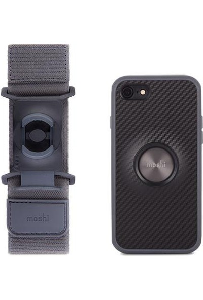 Moshi Siyah Telefon Koşu Kiti