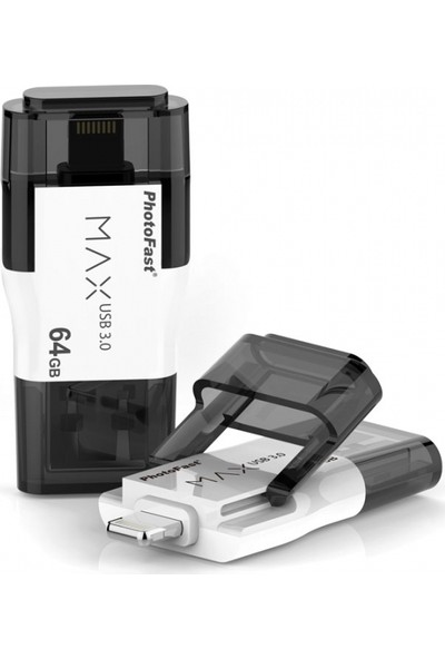 PhotoFast MAX Gen2 64GB Lightning / USB 3.0 Apple USB Bellek BPF-IFDMAXG264GB