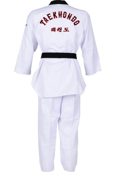 Whiteface Siyah Yaka Taekwondo Elbisesi