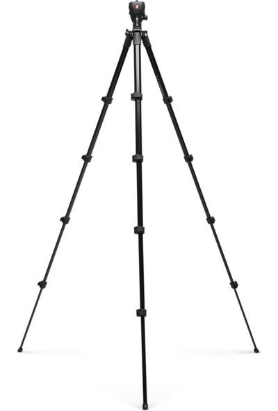 Manfrotto Compact Action Tripod Siyah