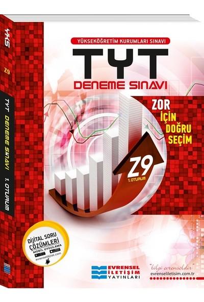 Tyt Z9 İleri Seviye Video Çözümlü Deneme Sınavları (1. Oturum)