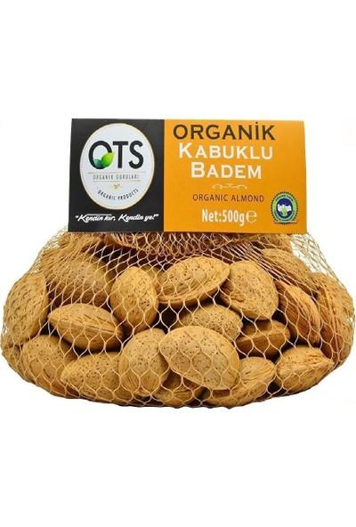 Ots Organik Kabuklu Badem 500 Gr