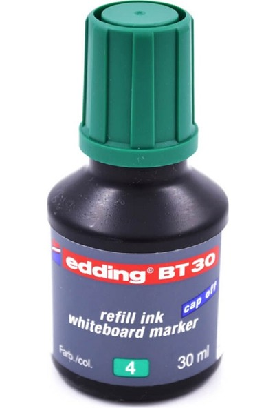Edding Bt30 Yeşil Tahta Kalemi Mürekkebi