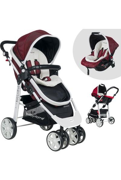 Baby Home Bh 500 Trio Comfort Travel Sistem Bebek Arabası - Bordo