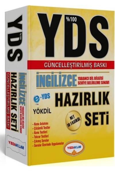 Yediiklim Yayınları YDS % 100 İngilizce Hazırlık Seti Güncel Baskı