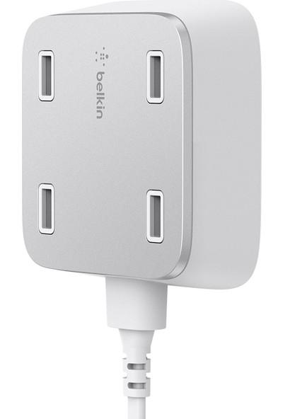 Belkin 4 x 2.4A USB Şarj Duvar Monteli