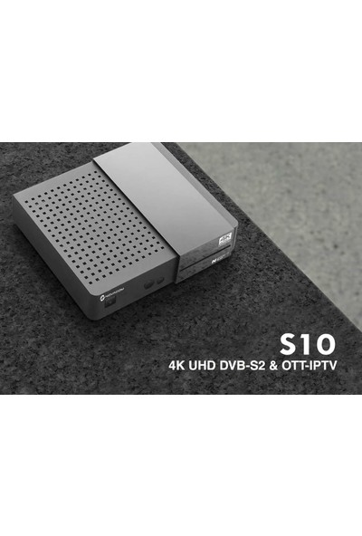 Novacom Spybox S10 UHD/4K Android Set Top Box
