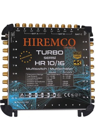 Hiremco 10/16 - 16 Çıkışlı Sonlu MultiSwitch Santral