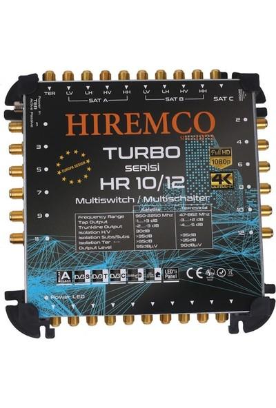 Hiremco 10/12 - 12 Çıkışlı Kaskatlı MultiSwitch Santral