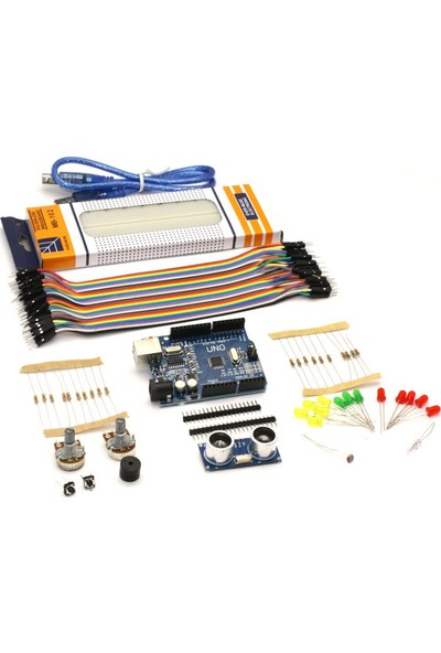 Robotus Arduino Başlangıç Seti - Yeni Versiyon