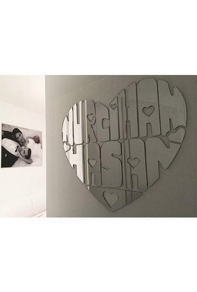 Aşk Aynası - 65x55cm İsimli Ayna