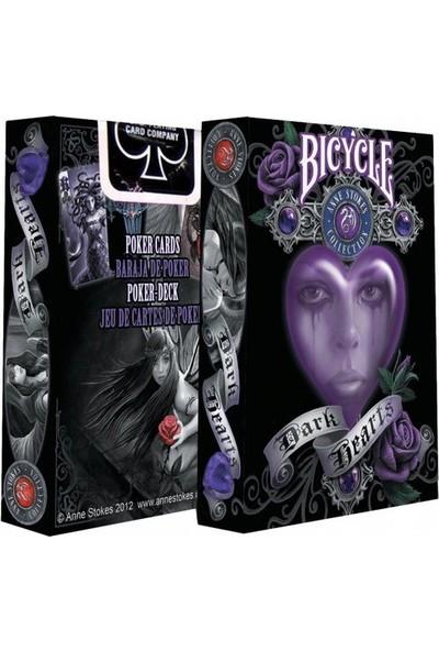 Bilardoavm Bicycle Anne Stokes Dark Hearts Oyun Kartı Destesi ( Bicycle Koleksiyonluk Oyun Kağıdı)