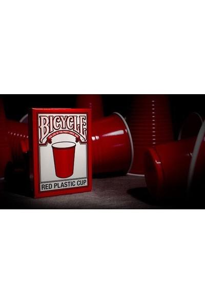 Bilardoavm Bicycle Red Cup Oyun Kartı Destesi ( Bicycle Koleksiyonluk Oyun Kağıdı)