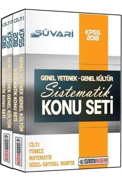Süvari Akademi Kpss Genel Yetenek Genel Kültür Sistematik Konu Seti 2018