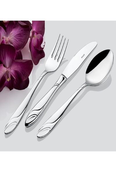 İnter Çelik Gülistan 12 Adet Yemek Bıçağı