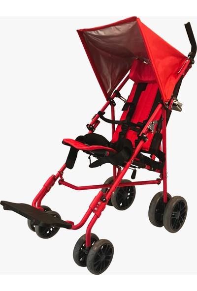 Poylin P991 Kırmızı Baston Puset Bebek Arabası