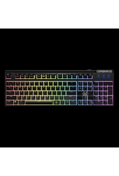 ASUS Cerberus Mech RGB Mekanik Oyuncu Klavye ( Red Switch )