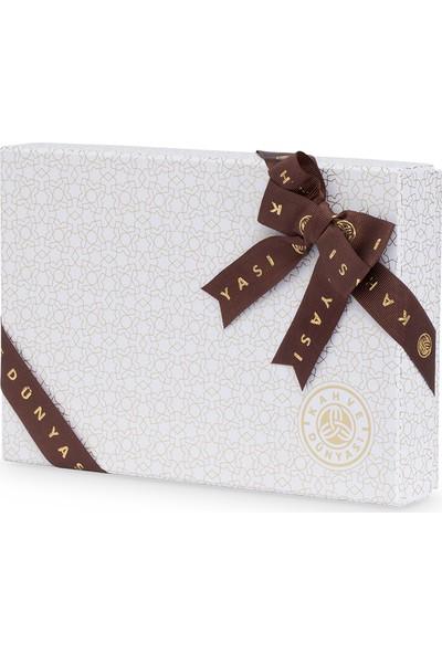 Beyaz Premium Karışık Çikolata Kutusu Küçük Boy 325g