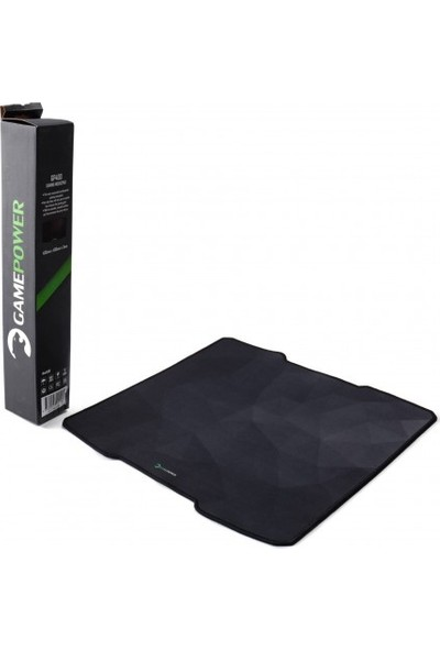Gamepower Gp400 400X400X3Mm Oyuncu Mouse Pad Siyah