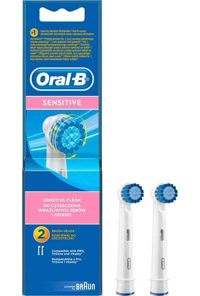 Oral-B Diş Fırçası Yedek Başlığı Sensitive Ultra Thin 2 adet
