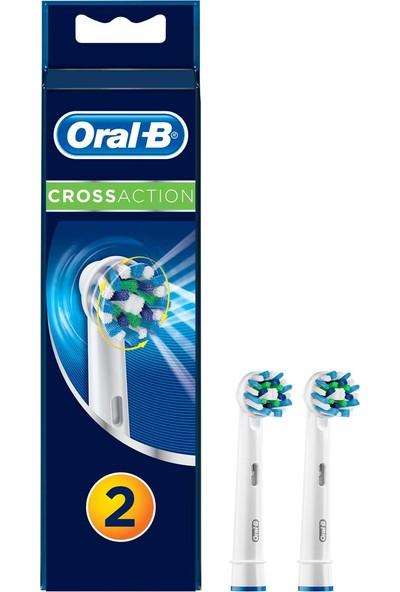 Oral-B Cross Action 2'li Diş Fırçası Yedek Başlığı