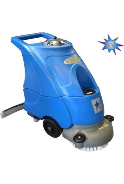 Cleanvac Elektrikli Sert Zemin Temizleme Mak.Otomatik E3501
