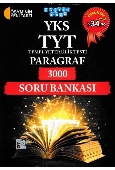 Akıllı Adam Yks Tyt Paragraf 3000 Soru Bankası