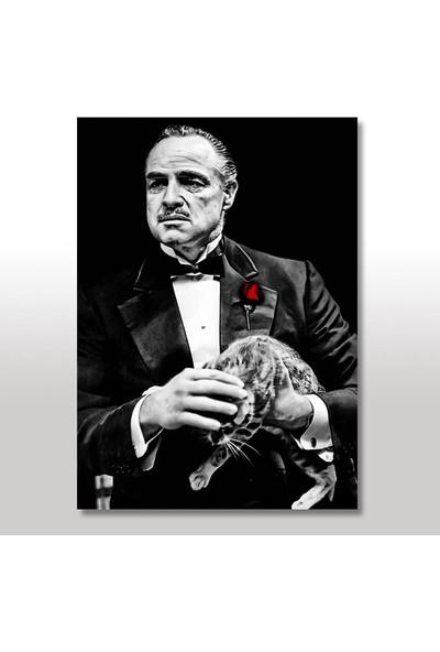 Tablomega Ahşap Tablo The Godfather 35x50 Cm