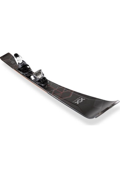 Völkl Flair 76 Kadın Kayak + Marker VMotion 1 Bağlama