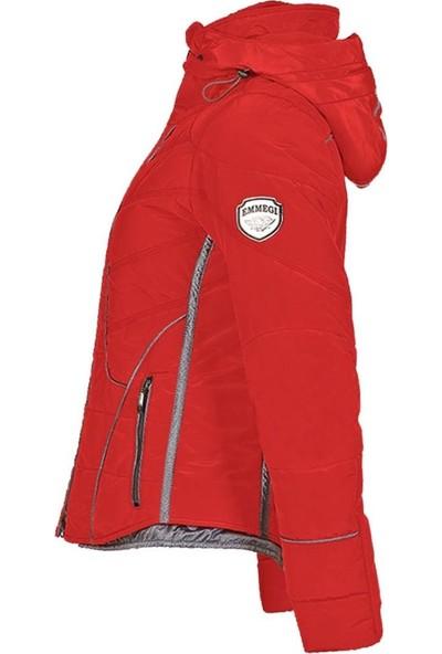 Emmegi Dana Kadın Mont Kırmızı