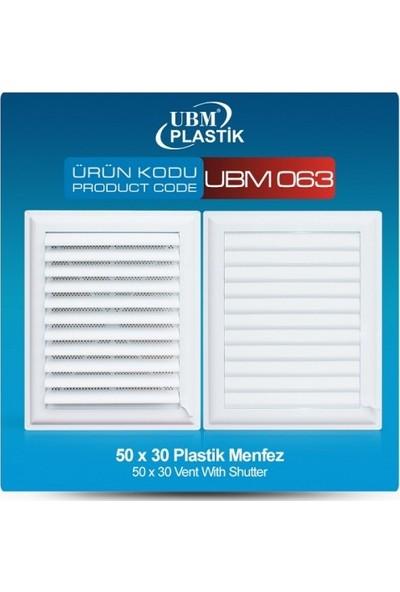 Ubm Plastik Menfez(50X30)