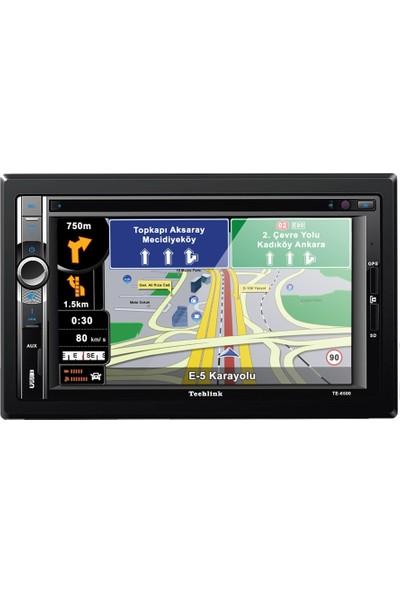 Techlink Te-6500 Navigasyonlu Dvd Usb Sd Double Teyp