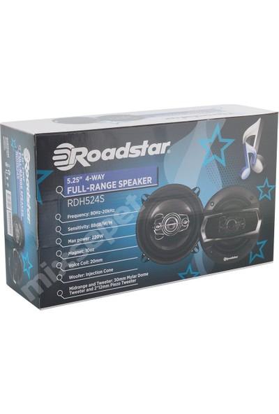 Roadstar Rdh-524S 13 Cm 220 Watt Oto Hoparlör 4 Yollu
