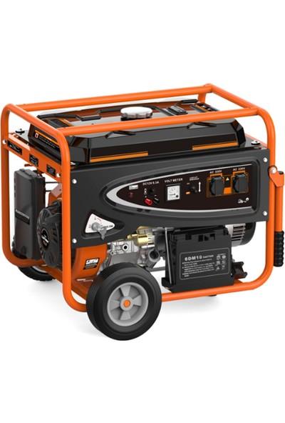 Greenmax LT9000EN-4 Benzinli Jeneratör 7 kW Bakır Sargılı
