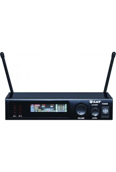 Jes Audıo Ly610 Ml-01A Tb 05 Wıreless Mikrofon 2Li Yaka -