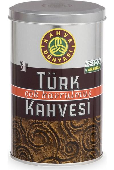 Kahve Dünyası Çok Kavrulmuş Türk Kahvesi 250gr