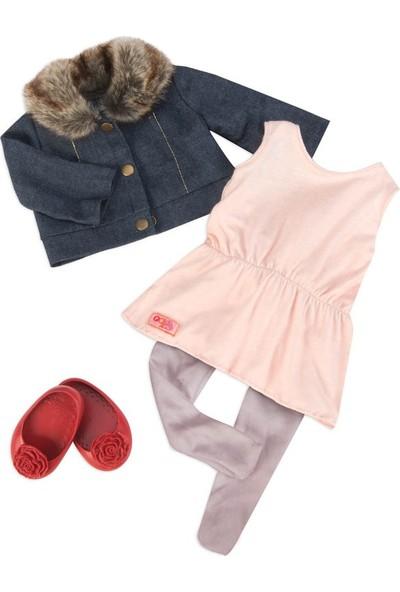 Our Generation Kıyafet Seti - Jean Jacket & Fur Collar