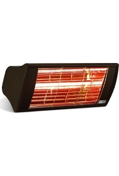 Goldsun GSS20 Supra 2.000 W Cafe Tipi Elektrikli Isıtıcı (Siyah)