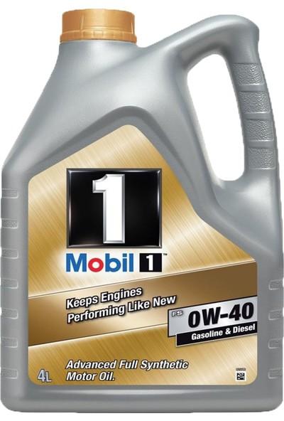 Mobil 1 FS 0W-40 4 Litre Benzinli Dizel Lpg Motor Yağı