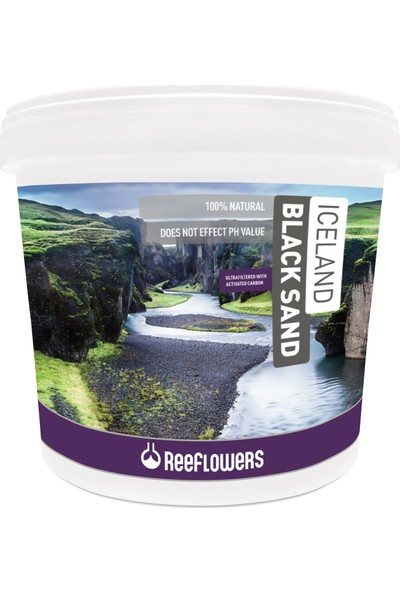 Reeflowers Iceland Black Sand (3-5 Mm) 25 Kg