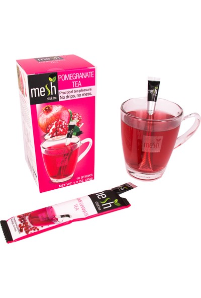 Mesh Stick Nar Çayı 16'lı
