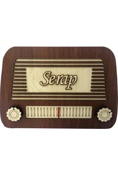 Hedef Hediyelik Kişiye Özel Nostajik Radyo Şeklinde Kumbara