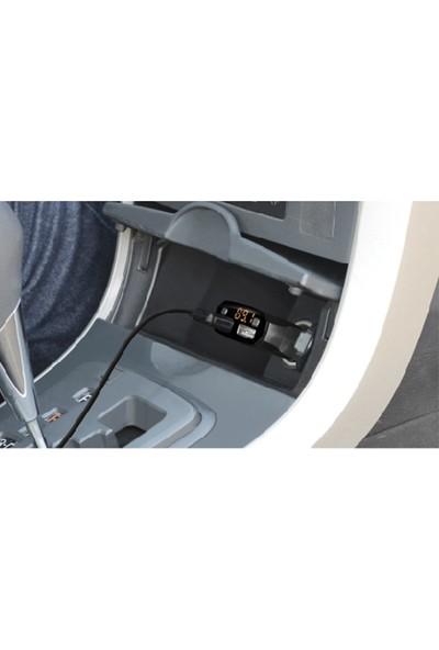 S-Link SL-BT30 USB+Bluetooth Destekli Fm Transmitter 2XUSB 2.1A