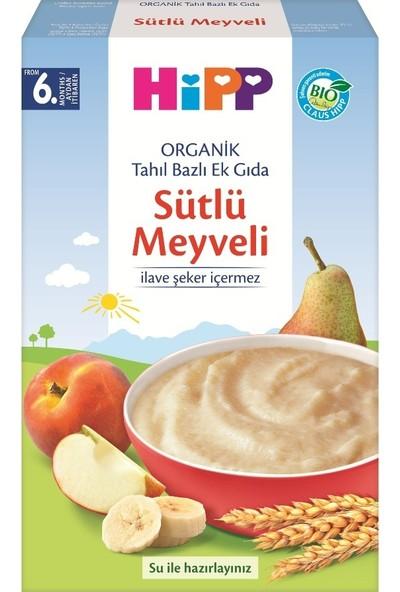 HiPP Organik Sütlü Meyveli 250 gr.