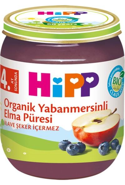 HiPP Organik Yabanmersinli Elma Püresi 125 gr.