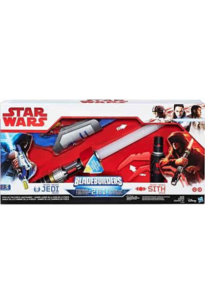 Star Wars Bladebuilders Jedi ve Sith Elektronik Isın Kılıcı Seti