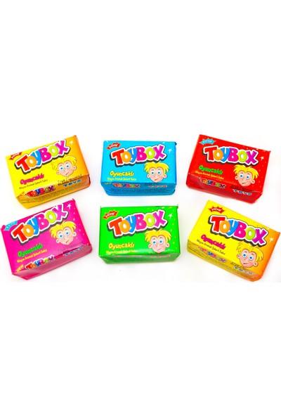 Toybox Oyuncaklı Meyve Aromalı Şekerli Sakız 60 Adet