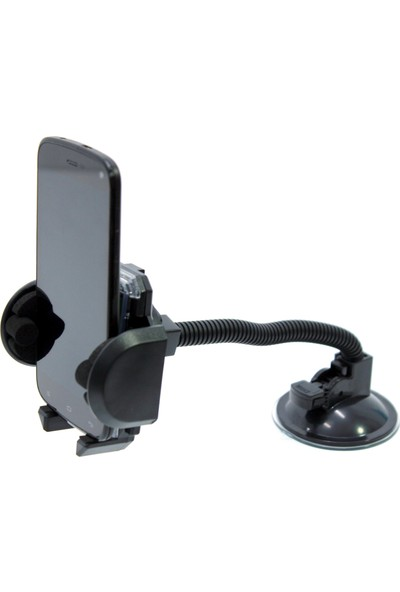 ModaCar Spralli Araç Camına Vantuzlu Cep Telefon Tutucu 424477